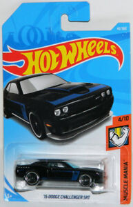 Hot Wheels 1/64 '15 Dodge Challenger SRT Diecast Car