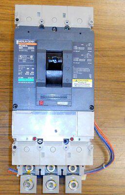 Nsj400 A Merlin Gerin 400 Amp Molded Case Switch With Rack Nsj400a