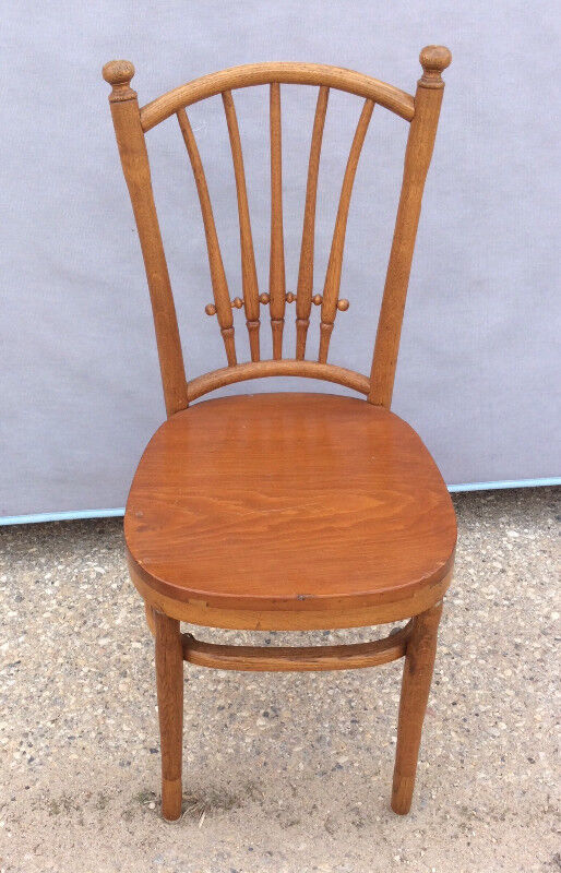 Description. Vintage Wooden Chair ...