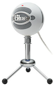 Blue Snowball Brushed Aluminum Microphone