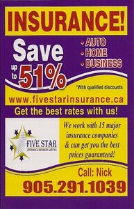 LOW AUTO AND HOME INSURANCE PRICE. UP TO 51% IN DISCOUNTS!