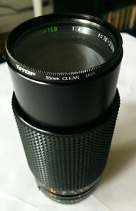 Sears 70-210mm F4.0 with 55mm Clear Filter