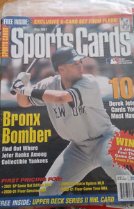 2000 Fleer Sports Cards Magazine  Exclusive 6 Card Jeter New