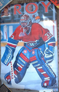 Patrick Roy Poster Montreal Canadiens