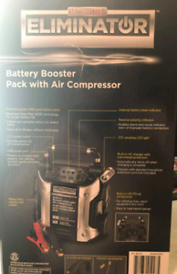 ELIMIN 1000 amp battery pack booster with 120 PSI Air Compressor