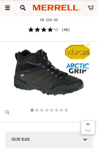 Merrell MOAB Winter Boots Mens Size 11