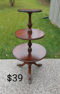 Duncan Phyfe Side Table *Delivery Available*