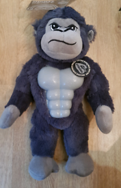 New with Tag Gorilla Mighty Beast Super Tough Dog Toy with Squeaker.