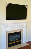 TV WALL MOUNTING - FAST AND NEAT