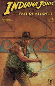 Indiana Jones and the Fate of Atlantis Comics #1-4 (1991)