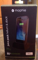 Mophie juice pack Helium and dock