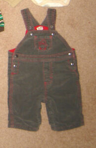 Lined Overalls, Sleepers, Clothes - 0-3, 3-6, 6, 6-12, 12, 12-18