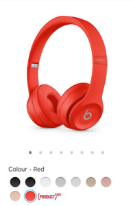 Brand new and sealed Beats by Dre Solo 3 wireless from apple.