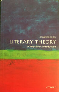 Culler literary theory a very short introduction.
