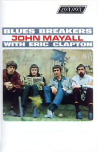 John Mayall With Eric Clapton – Blues Breakers cassette