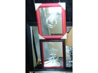 FOOTBALLl mirrors These are classy very unusual. GREAT XMAS PRESENTS