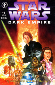 Star Wars comics -- Dark Empire 1-6 complete ROTJ sequel