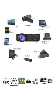PORTABLE PROJECTOR HD