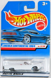 Hot Wheels 1/64 '64 Lincoln Continental Convertible Diecast Car