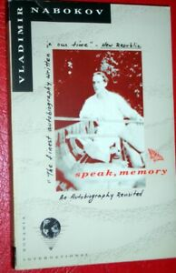Speak, Memory: An Autobiography Revisited- Vladimir Nabokov-1989