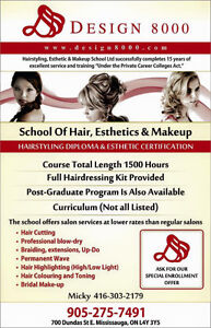 MAKE UP CERTIFICATES ,Ministry approved and salon certificates