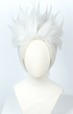 For Cosplay Ursula Wig Short Sliver White Cosplay Halloween Costume for Women](Ursula Wigs)
