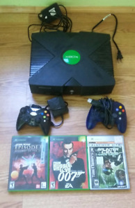 Original XBOX and games **Working**