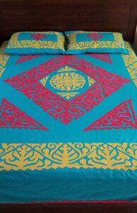Hand crafted bed sheets