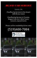 Call Black Car Service.  Cheapest rates in town!!!