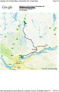 Building Lots in Val des Bois,Quebec TRADE?? ECHANGE??