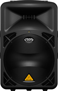 Behringer Eurolive B615D Active 2-Way 1500W PA Speaker (x2)
