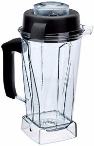 New Vitamix  Easy Off Container with Lid and No Blade