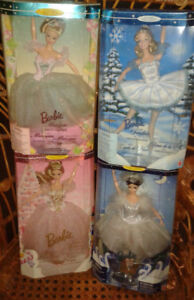 Collector Barbie - Set of 4 - Classic Ballet Series  NRFB  -1994