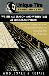 LOW PRICE  TIRES WE HAVE HUGE INVENTORY FOR DIFFERENT S