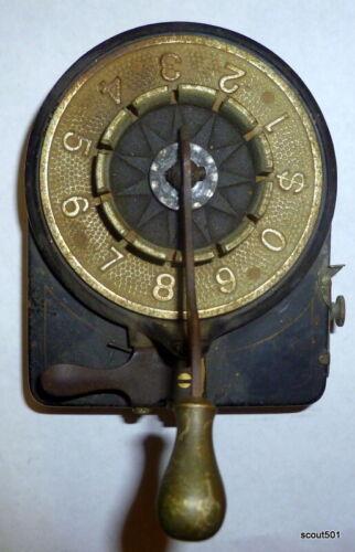 Antique 1800s Cast Iron Victorian Department Store Price Tag Machine Steam Punk
