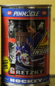 NHL Hockey Pinnacle cards in a can