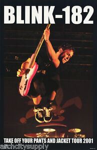 POSTER : MUSIC : BLINK-182 - TOUR 2001 -  FREE SHIPPING !    #6554      LC6 G