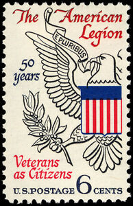 1969 American Legion 50th Anniversary 6 Cent First Day Cover