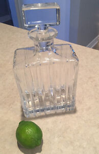 Lead Crystal Whiskey Decanter Stratford Kitchener Area image 1