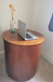 Rare heavy compact folding desk