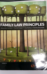 Family Law Principles 2nd ed