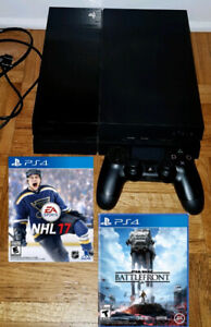 PS4 500gb Console with 2 games
