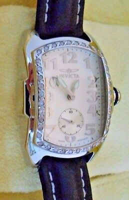 Mint INVICTA Women's Diamond Baby Lupah Quartz Watch with Original Box