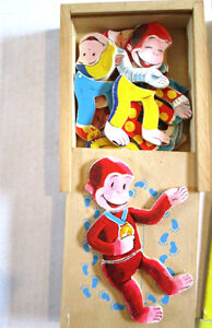 CURIOUS GEORGE - Books, Puzzle Box and Hat Activity Ages 3 & up Windsor Region Ontario image 2