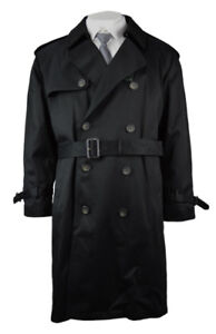 Ralph Lauren Men's Cotton Blend Trench Coat 42R Double Brst LRL