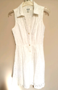 Cute romantic white summer dress