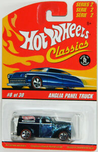 Hot Wheels Classics 1/64 Anglia Panel Truck Diecast Car Blue
