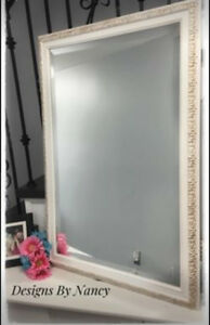 "Hand Painted Royal York Hotel Bevel Cut Mirror!  29"" x 42"""