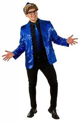Pailletten Jackett Kostüm Jacke Sakko Herren Disco Party Partykostüm Discokostüm