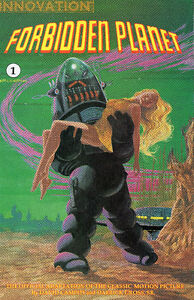 Forbidden Planet Official Movie Adaptation Comics #1-3 (1992)